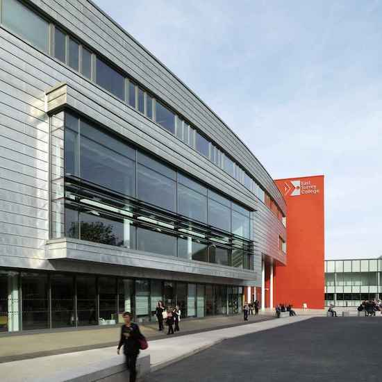 East Surrey College (Commercial Property The Direct Tiling Group provided tiling services to)