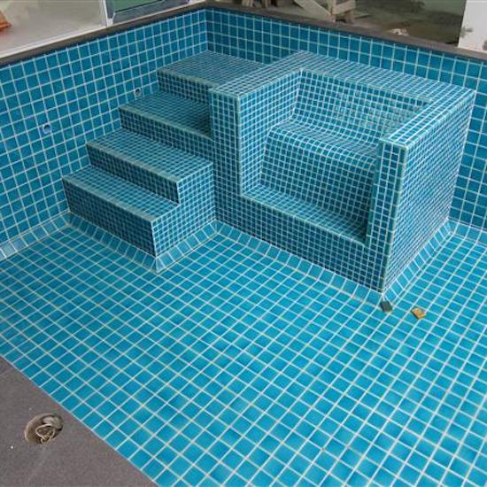 swimming pool tiling in london