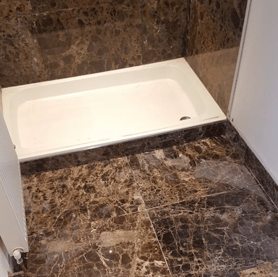 Tiling services provided to bathroom in London house