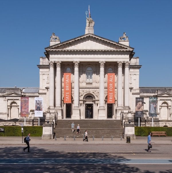 Tate Britain (tiled property in London)