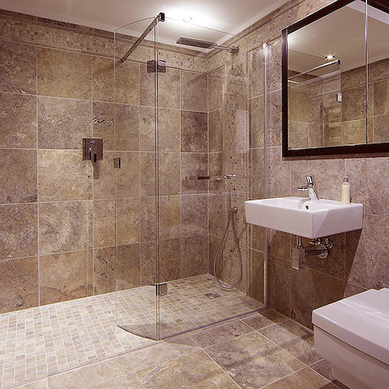 bathroom specialists fitting new bathroom in London house